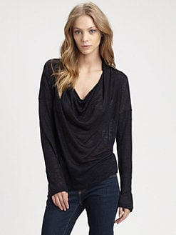 Splendid - Cowlneck Top