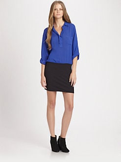 Splendid - Colorblock Shirtdress