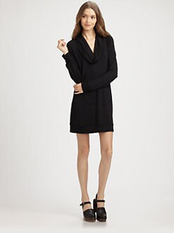 Splendid - Cowl Sweatshirt Dress