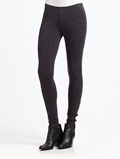 Splendid - Leopard-Print Leggings