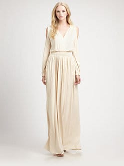 Rachel Pally - Neptune Cold Shoulder Maxi Dress