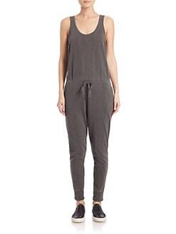 Wilt - Cotton Drawstring Jumpsuit