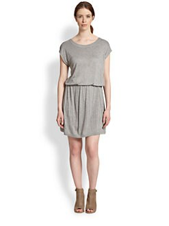 Soft Joie - Cercei Blouson-Waist Jersey Dress