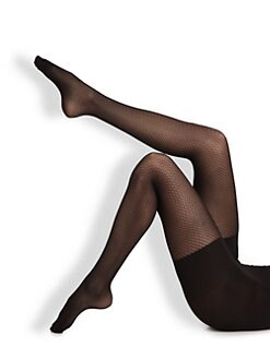 Spanx - Pucker-Up Patterned Tight End Tights