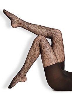 Spanx - Look-At-Me Lace Uptown Tight End Tights