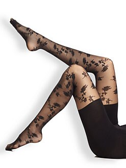 Spanx - Stunning Roses Tights