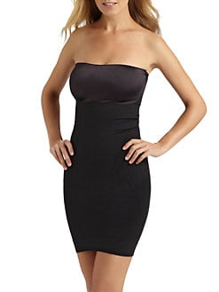 Spanx - Slimmer & Shine Strapless Slip