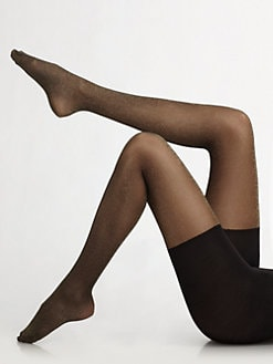 Spanx - Metallic Luxe Patterned Shaping Tights