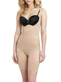 Spanx - Open-Bust Mid-Thigh Shaper