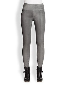 Spanx - Wax Denim Leggings