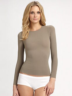 Spanx - Long Sleeve Shaping Top