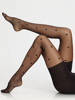 Spanx - Sheer Polka Dot Tights