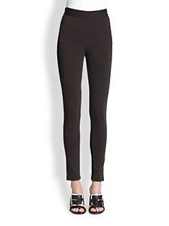 Givenchy - Ponte Bi-Color Leggings