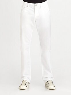 Faconnable - Five-Pocket Cotton Trousers