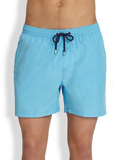Faconnable - Packable Swim Trunks