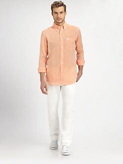 Faconnable - Heathered Linen Sportshirt