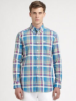 Faconnable - Plaid Cotton Sportshirt