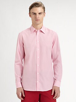 Faconnable - Checked Cotton Sportshirt