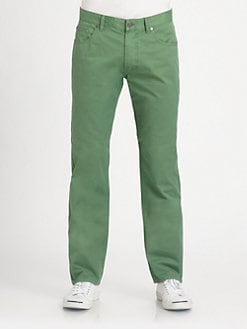 Faconnable - Garment-Dyed Trousers