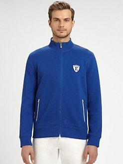 Faconnable - Double Interlock Full-Zip Sweatshirt