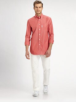 Faconnable - Striped Casual Dress Shirt