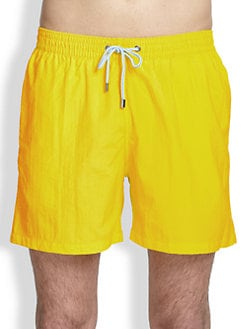 Faconnable - Nylon Swim Trunks