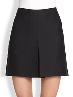 Akris - Inverted Pleat Mini Skirt