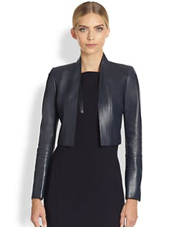 Akris - Lauretta Leather Jacket