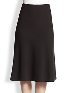 Akris - A-Line Wool Skirt