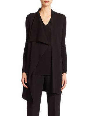 Architecture Collection Long Wool Cardigan