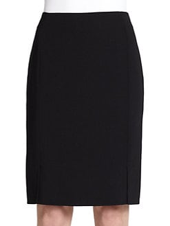Akris - Double-Face Wool Pencil Skirt