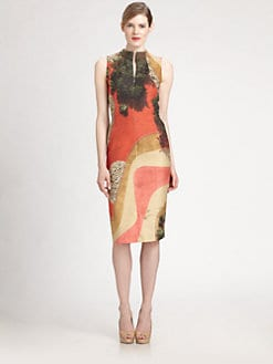 Akris - Sleeveless Garden-Print Dress