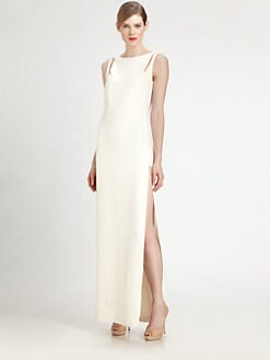 Akris - Silk Crepe Gown