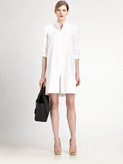 Akris - Cotton Voile Tunic Dress