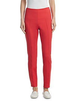 Akris - Stretch Cotton-Techno Skinny Ankle Pants