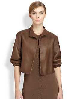 Akris - Shearling Nappa Leather Jacket