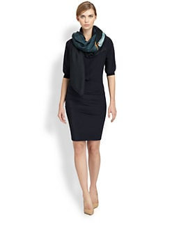 Akris - Silk Banded-Cuff Shirt