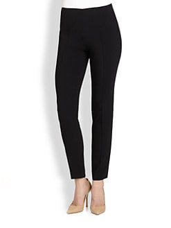 Akris - Melissa Stretch Crepe Ankle Pants