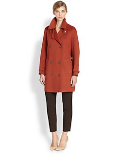 Akris - Cashmere Double-Breasted Trenchcoat