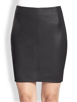 Akris - Nappa Leather Pencil Skirt