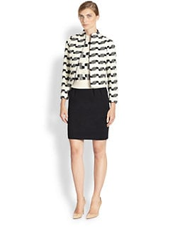 Akris - Wool-Blend Jacquard Jacket