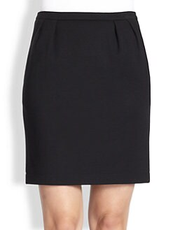 Akris - Wool Crepe Skirt