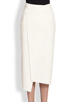 Akris - Asymmetrical Wrap Skirt