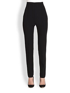 Akris - Felissa Stretch Wool Slim-Leg Pants