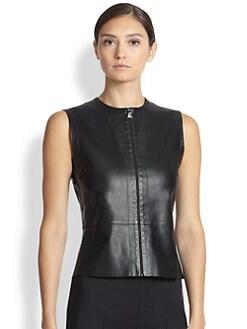 Akris - Nappa Leather Gilet