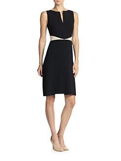 Akris - Bi-Color Dress