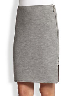 Akris - Wool Pencil Skirt