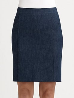 Akris - Denim Skirt