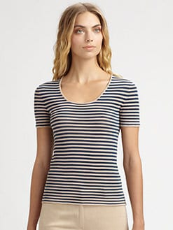 Akris - Striped Tee