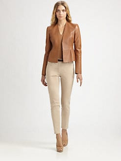 Akris - Leather Elaine Jacket